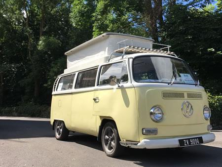 1971 VW Early Baywindow Campervan